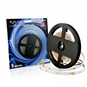 Taśma LED POLUX 5m IP20 6500K 550lm 301901