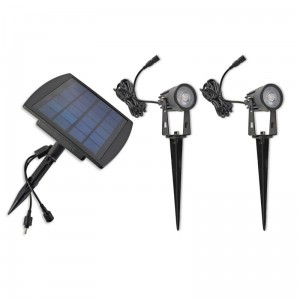 Solar LED SPIKE 2X1W barwa NEUTRALNA