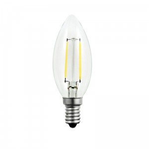 Filament LED 2W barwa zimna 6500K E14 Ecolight EC79308