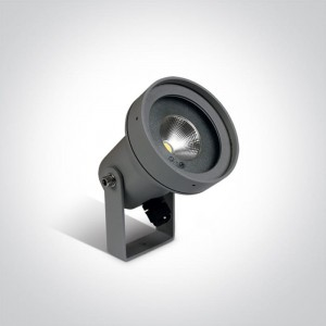 Kalapodi Antracyt COB LED 6W 3000K CRI85 IP65 Reflektor ogrodowy One Light 67196B/AN/W
