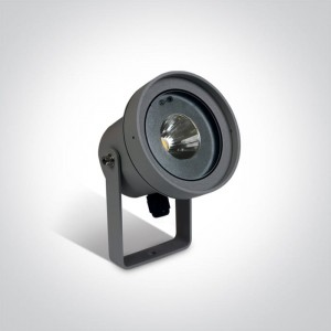 Malesina Antracyt COB LED 9W 3000K CRI85 IP65 Reflektor ogrodowy One Light 67196C/AN/W