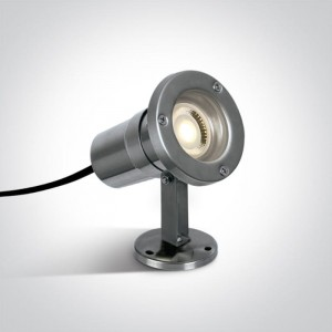 Platsa Inox GU10 IP65 Reflektor ogrodowy One Light 7008A