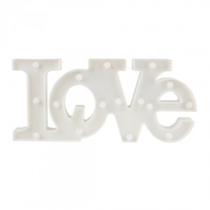 LOVE PLASTIKOWE LED EKO LIGHT EKD3935