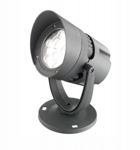TUCUPITA Szary LED 18W 3000K IP65 Reflektor ogrodowy Luces Exclusivas LE71459