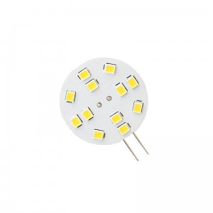 LED G4 12V 2W 12 LED WW 30mm SPECTRUM 3000K WOJ13782