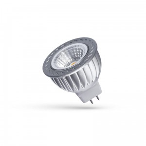 LED MR16 12V 4W COB 38° CW z  SZYBKĄ 6000K Spectrum