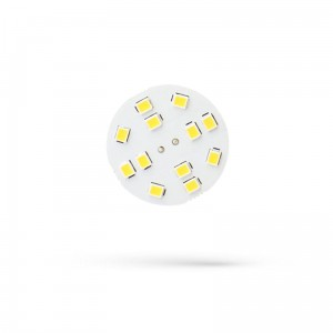 LED G4 12V 2W 12 LED CW 30mm SPECTRUM 6000K