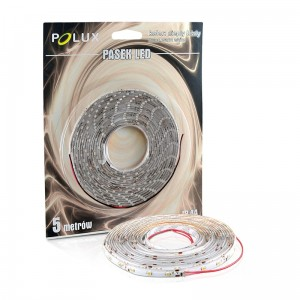 Taśma LED POLUX 5m IP44 3000K 900lm 301260