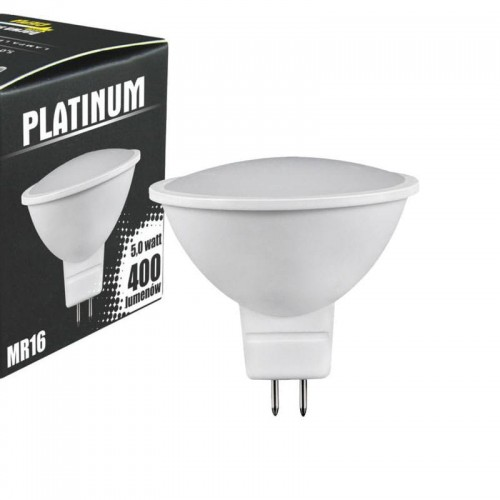 Zarowka Mr16 Led: Reflektor LED POLUX PLATINUM MR16 12V SMDWW 400lm 3000K